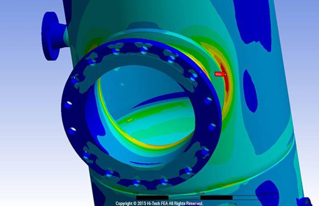 Predicting Fatigue in Pressure Vessels Using FEA