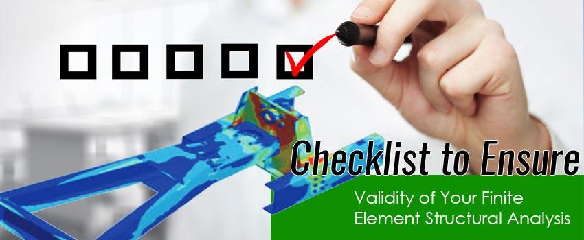 FEA Checklist